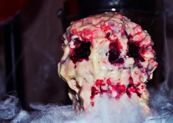 Pastel calavera Halloween