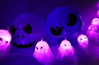 Fantasmas caseros Halloween